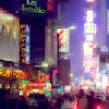 Times Square at Night - Ruby Foos - New York City