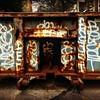 Graffiti Dumpster - N Y C Street Art