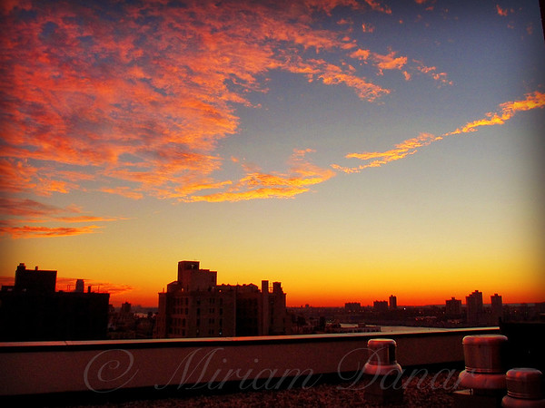 New York City Sunset No. 4 - Upper West Side