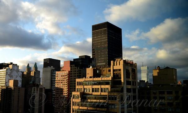 Midtown Manhattan with Trump World Tower - New York City Skyline
