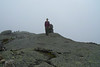 Me, on Mount Marcy's summit.