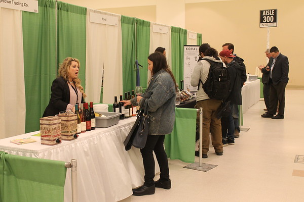 New York State Liquor Store Association's second annual Sip & Sample Tradeshow