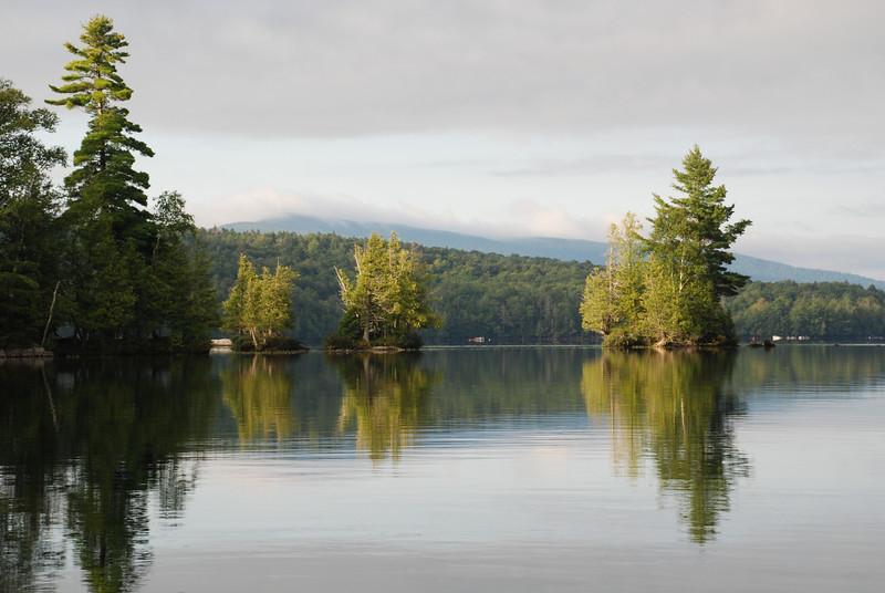 Early Morning on Blue Mountain Lake