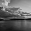 Storm Clouds over Blue Mountain Lake