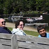 Waiting for the sea plane ride at Long Lake.