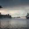 Another shot from the canoe on morning 4.  This type of fog is very common on the cool mornings of late August.