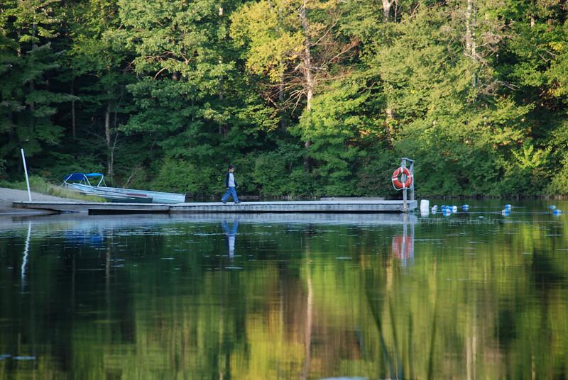 Dock on Woods Lake