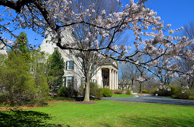 George Eastman House in the Spring