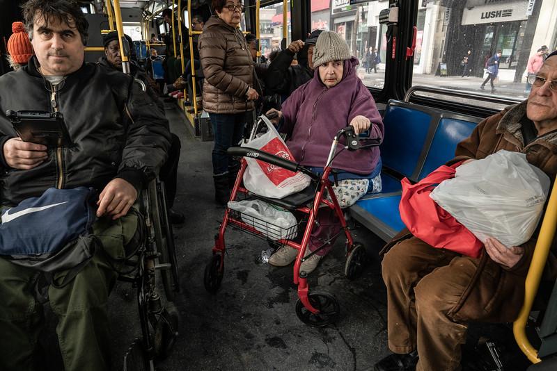 M14 Crosstown Bus East Village