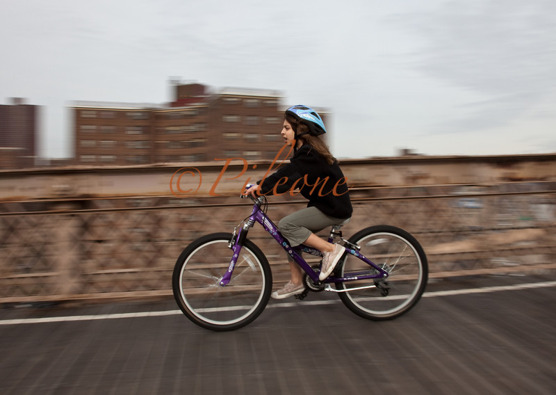 Biking Brooklyn Bridge