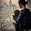 Mother and Child at One World Observatory