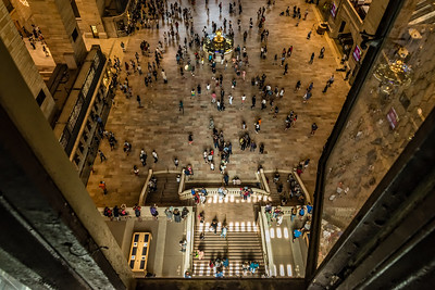 View of Grand Central Terminal's main concourse