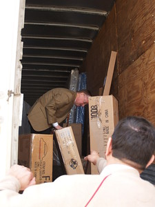 Inspecting shipments to New Orleans
