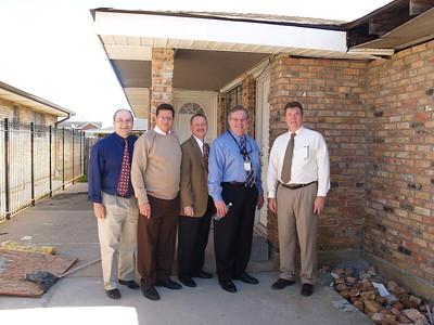 Left to Right:  Gabe Raggio, Gus Matamoros, Scott Carter, John Eppolito, Wendell Gieger