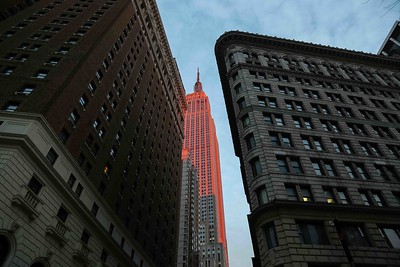 Empire State Building...in the sunset