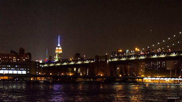 Empire State with Bridge 2