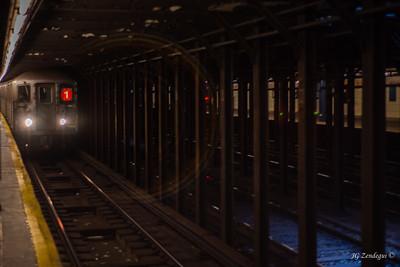 #1 Train - in focus