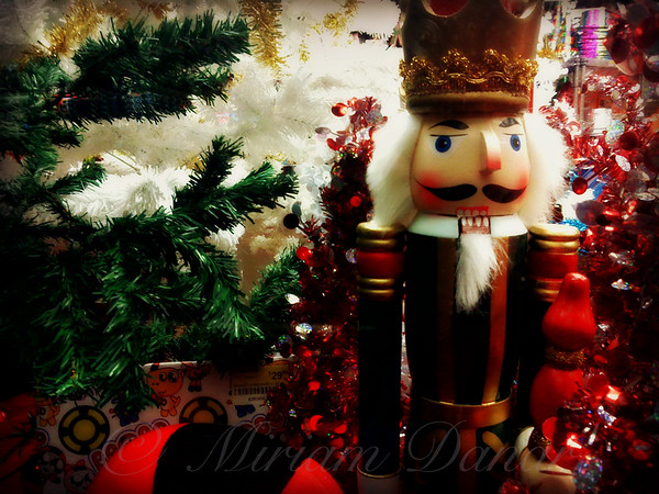 Christmas Window - Nutcracker in New York