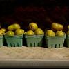 Sunny Green Pears at the Fair