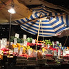 Food City - Night Market with Umbrella Fruits and Vegetables