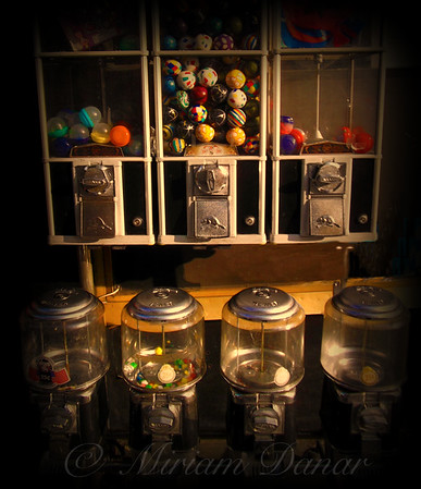 Gumball Memories - Vintage Vending Machines