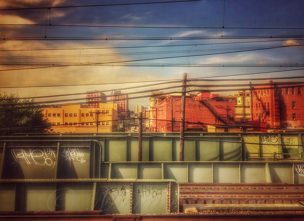 From the Train - On the New Jersey Transit Line