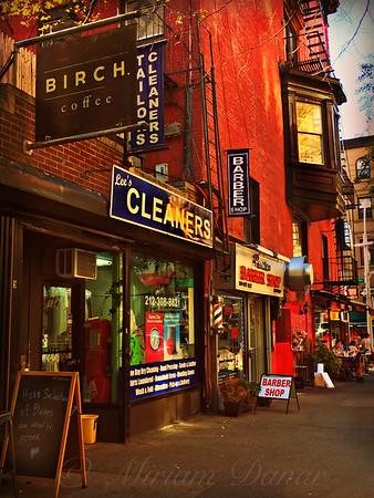 Little Shops of New York - Street Scene
