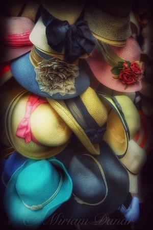 Hats - A Cornucopia of Color