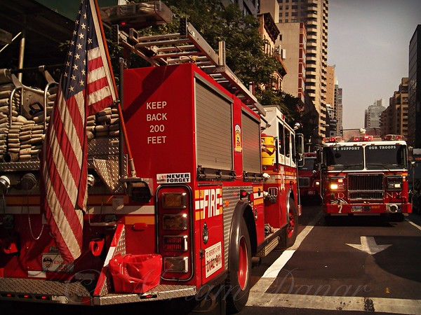 NYC Fire Trucks - On the Job