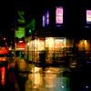 Corner in the Rain