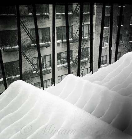 Wave Formations - Winter in New York