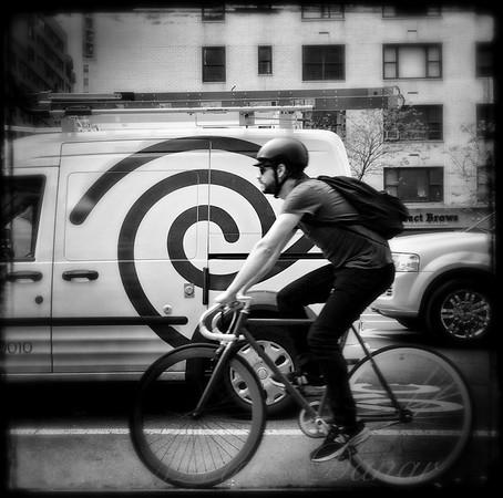 What Goes Around - Man on a Bike
