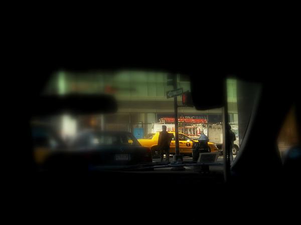 Taxi Abstract No. 5 - Taxi Series