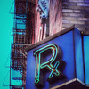 Vintage Drugstore Pharmacy Sign - Rx - variation
