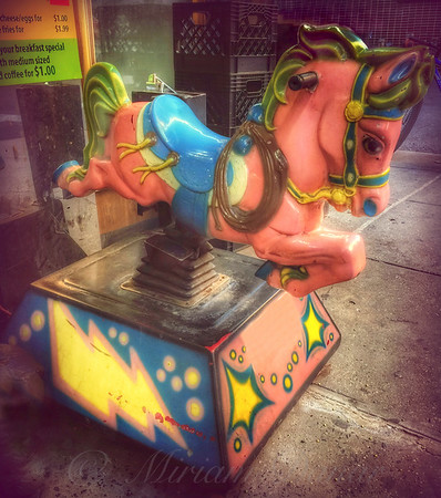 5 Cents a Ride - Bucking Bronco