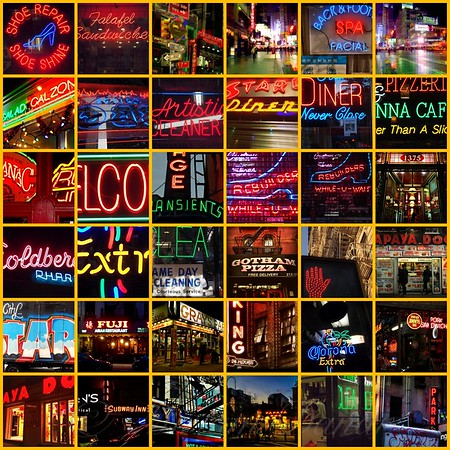 Neon of New York - Picture Panel