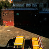 Color Study Sun And Shadow - Two Buses - Yellow and Red