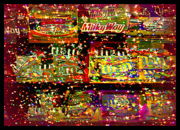 The Milky Way Galaxy of Candy