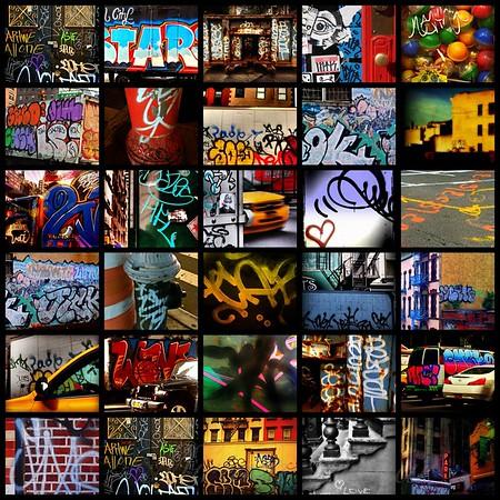 Graffiti of New York - Picture Panel