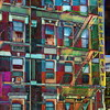 WindowScape 5 - Cafe Restaurant Upper New York City - vertical