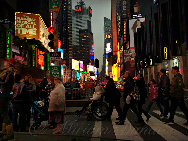 Twas the Night Before New Years - Times Square New York