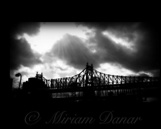 59th Street Bridge with Dramatic Sky