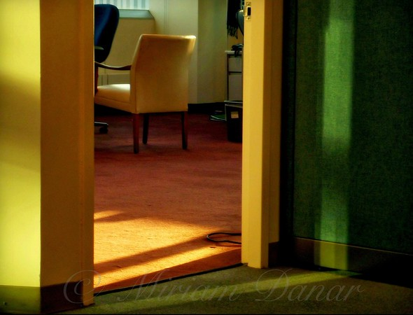 Office After-Hours - Yellow Chair No. 5