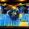 Christmas in New York - Restaurant Wreath