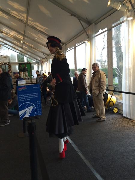 20141130 - holiday train show