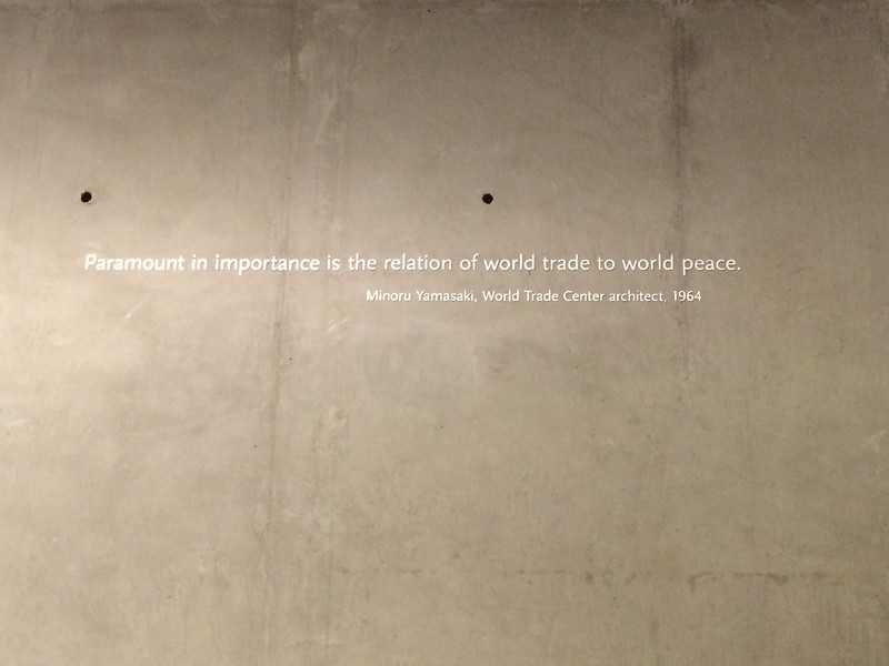 """""""Paramount in importance is the relation of world trade to world peace."""""""