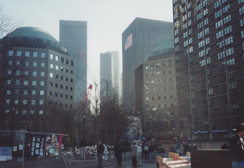 Near Ground Zero in Manhattan