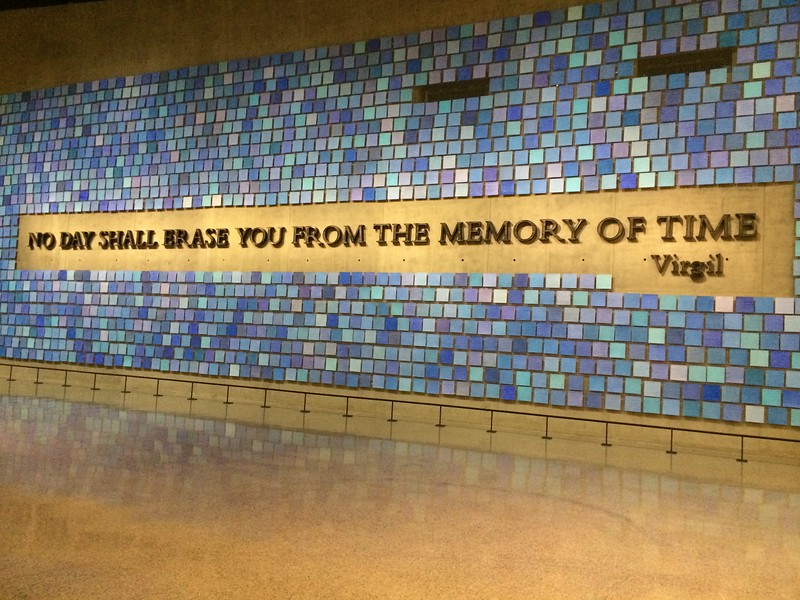 """""""No Day Shall Erase You From the Memory of Time,"""" Virgil"""