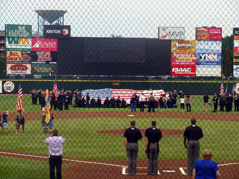 Honoring the Victims, National 911 Flag