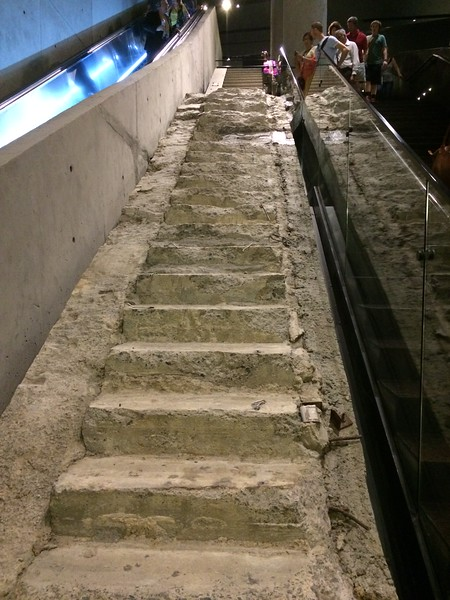 """Vesey Street Stair Remnant: The """"Survivors' Stairs"""""""